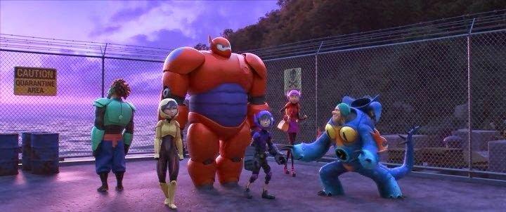 Big Hero 6 (2014). Crítica y resumen.