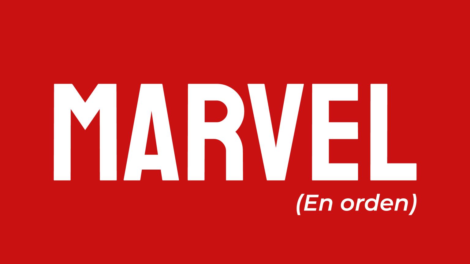 Cómo ver las películas de Marvel en orden.