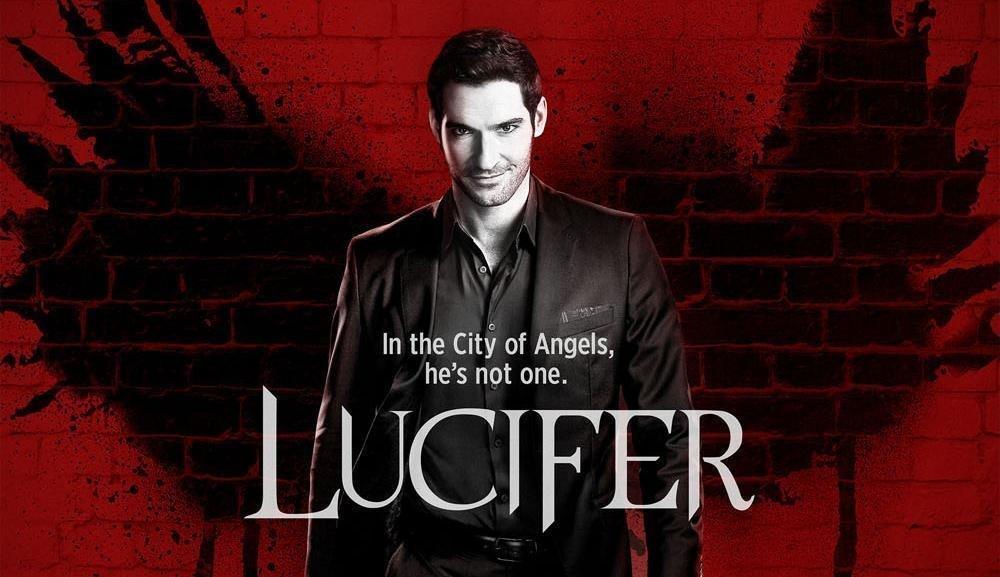 Lucifer serie de ángeles y demonios de Netflix.
