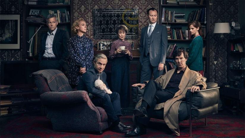 Cuarta temporada de Sherlock: de menos a más.
